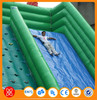 2015 most welcome 0.9mm PVC Tarpaulin fire truck inflatable water slide