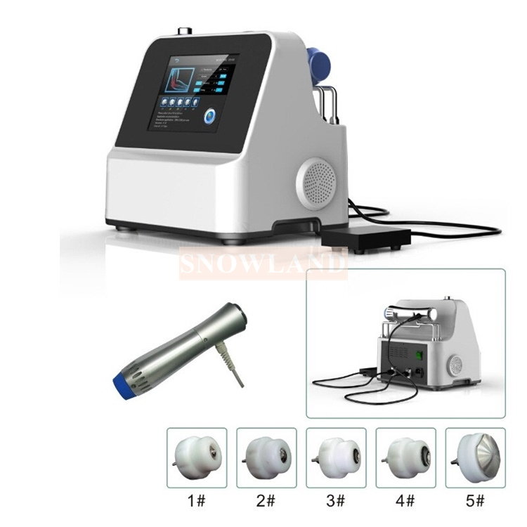 Focal extracorporeal shock wave therapy equipment shock waves