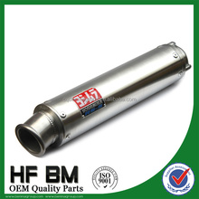 wholesale stainless steel 250cc, 400cc big engine muffler silencer, motorcycle racing exhaust muffler