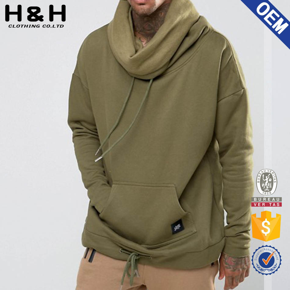 no logo hoodies high collar sweatshirt t shirt hoodies