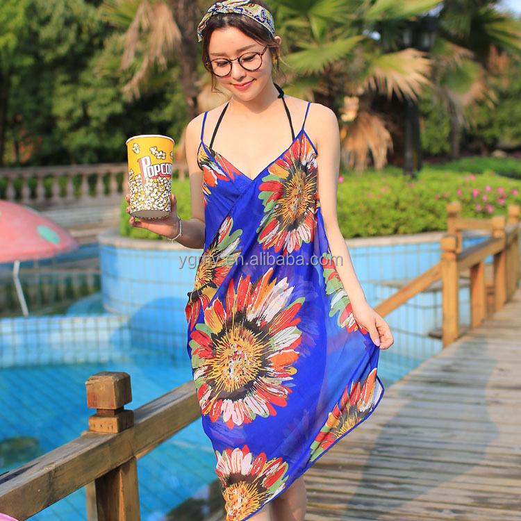 a9ef7440a Moda Chiffon Mulheres Frente Envoltório Verão Cover Up Beach Wear Pareo  Vestido Toalha De Banho Saias - Buy Saias De Praia,Swimwear Saias,Vestido  Maxi ...