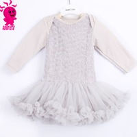 New arrival chiffon tutu dress girls dresses baby tutu rose floral party long dress for kids
