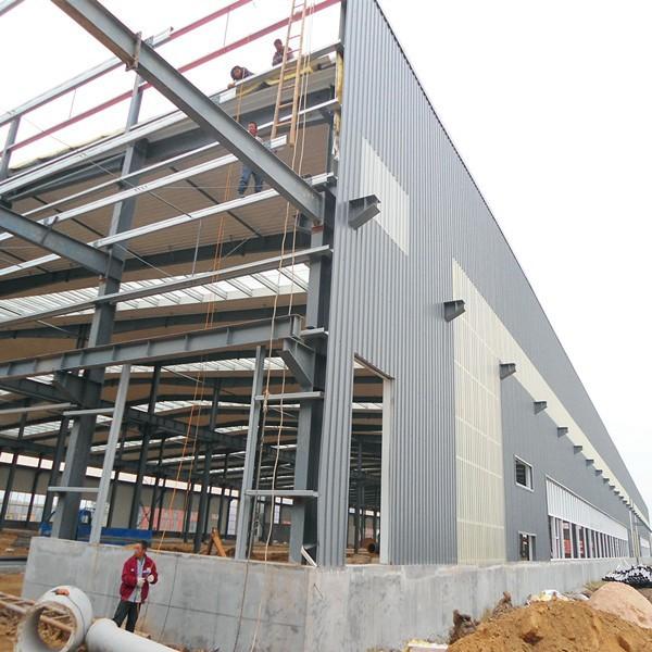 Prefabricados de acero estructura de almac n de metal material de construccion estructuras de - Material construccion barato ...
