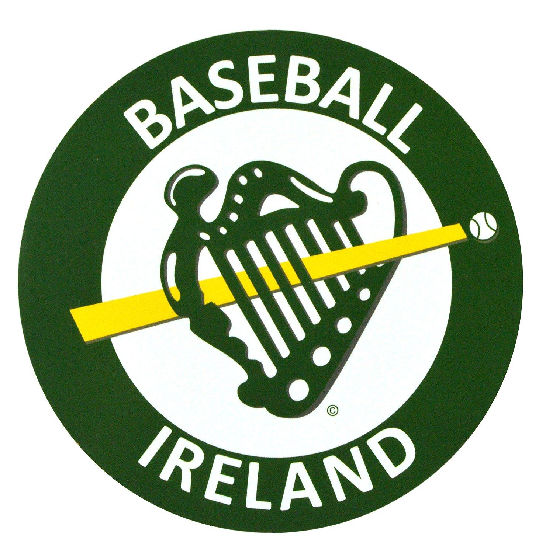 Baseball Ireland Green Jumbo Car Sticker Decal