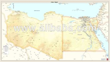Printed country maps libya egypt buy printed country maps printed country maps libya egypt gumiabroncs Image collections