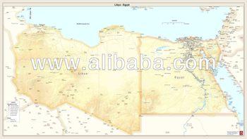 Printed country maps libya egypt buy printed country maps printed country maps libya egypt gumiabroncs Choice Image