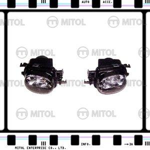 For Mercedes Benz W203 AMG Fog Lamp W/ Projector Fog Light