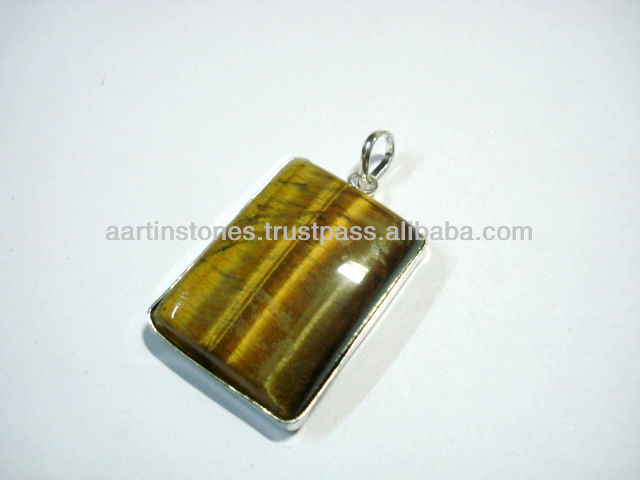 Tiger eye Gemstone Pendants