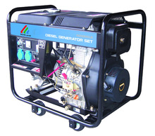 low price good quality portable open frame 5 kw diesel generator