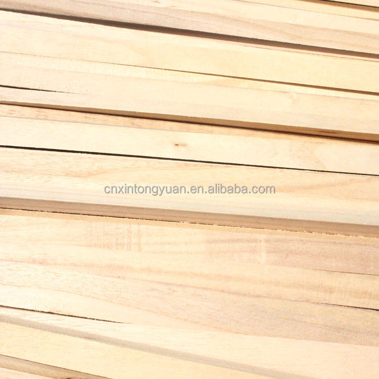 White wood timber from China/pine board/paulownia solid wood planks