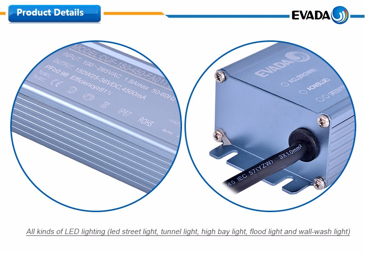 Hot sale waterproof variable dimmable led driver