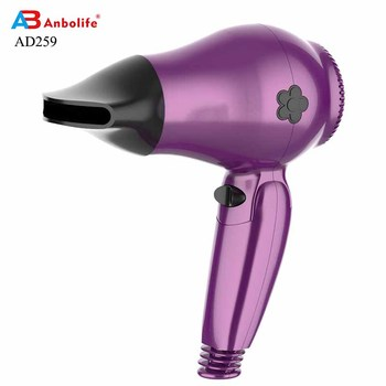 Anbolife new hot sale cheap household electric dryer hotel travel mini hair dryer professional promotion hair dryer