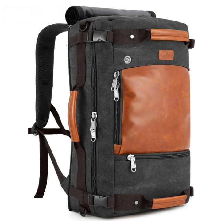 New style customized foreign travel men's outdoor duffel shoulder backpack