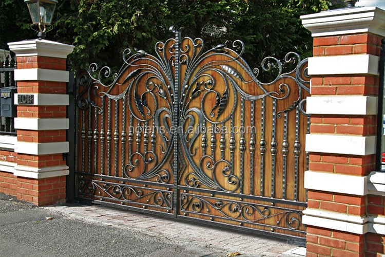 Custom Modern Boundary Wall Gates From Factory Iron Gate