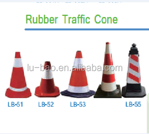high quality factory price rubber traffic barrier cone