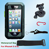 2015 New Touch Screen IPX8 8M Waterproof Phone Bike Motorcycle Holder Case for iPhone6 Plus iPhone4 4s 5 5s Protective Bag Mount