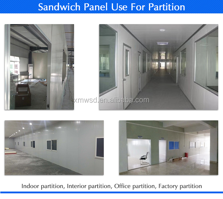 50 мм цвет сталь glasswool сэндвич панель Чистая комната