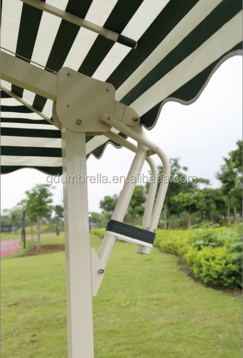 Windproof garden umbrella, patio umbrella, outdoor restaurant umbrella,