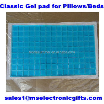 classic home textile cooling gel mattress pad for pillows and beds