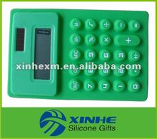 2012 Pocket Silicone Calculator with 8 Digits