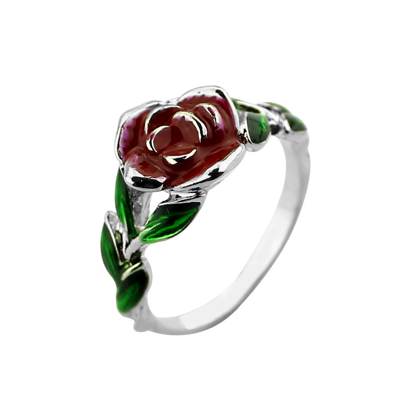Beauty Movie And The Beast Rose Tree Rings Rose Design Engagement