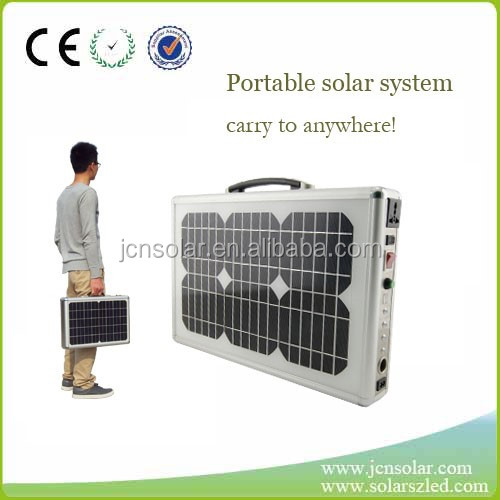 120W foldable solar generator for outdoor activities, camping, traveling