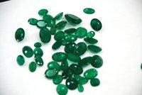 Emerald Rough & Cut Stone