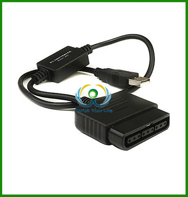 brand new and best price for PS2 to PS3 USB Controller Converter adapter For PS 2