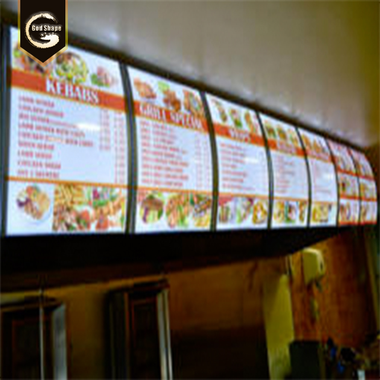 Gs Menu Light Box For Restaurant