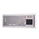 USB LED keyboard green blue backlit waterproof industrial keyboard touchpad medical rugged keyboards with backlight