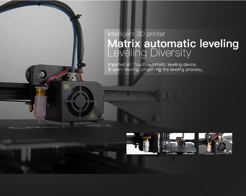 Creality newest diy desktop 3d printer CR20 Pro upgraded BL Touch auto leveling for sale