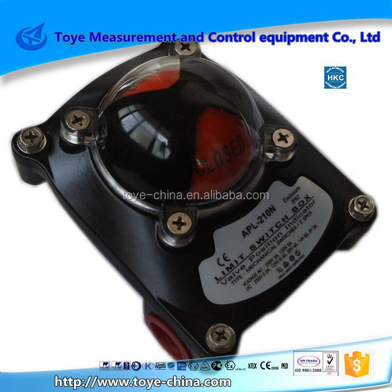 APL-2N types of hydraulic valves safety limit switch