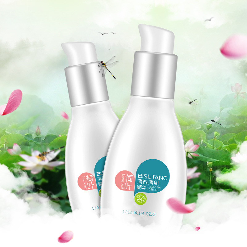 lotus leaf refresh whitening milk lotion silky body lotion after bath oem manufacturer China