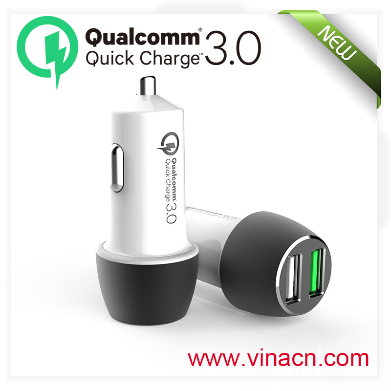 QC3.0 wifi phone charging Qualcomm pack mobile Qualcomm power charger for lg g2 QC 3.0