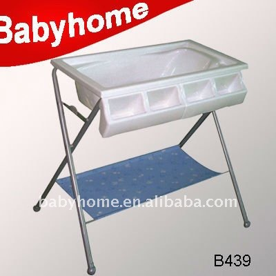 folding baby bath changing table ce standard baby diaper changing table