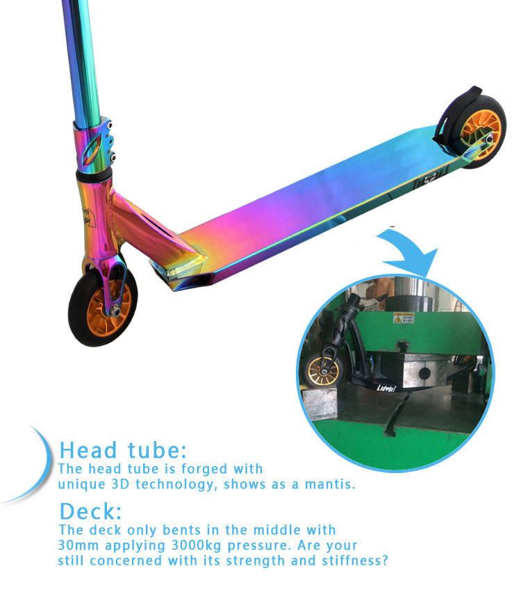 Neo Chrome Pro Scooter Rainbow Adult Scooters For Sale Freestyle Hic