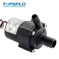 High Efficiency 12v 24v Brushless DC Motor, Light Weight Ectric Dispenser Cooler Water Pump