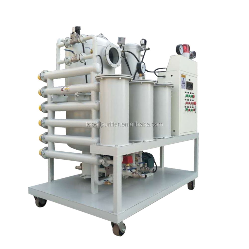 Efficient double stage zyd transformer oil filtration vacuum purifier