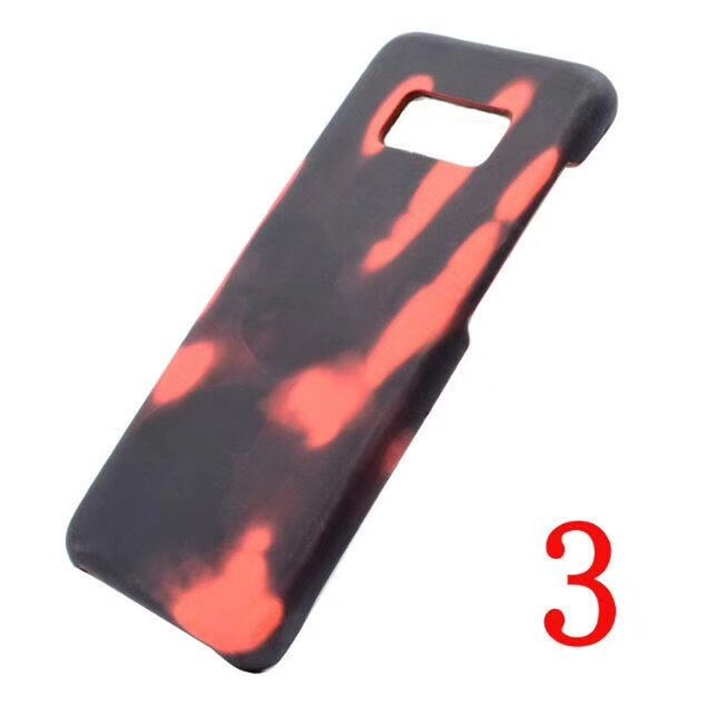 Hotsell Colorful Discoloration Thermostimulative Soft TPU Phone Shell Case for Samsung Galaxy Note 8