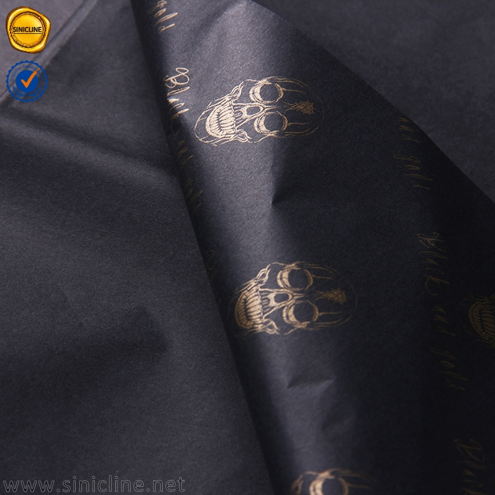 Sinicline marchio di abbigliamento di carta da imballaggio di colore del tessuto di carta jumbo rotolo