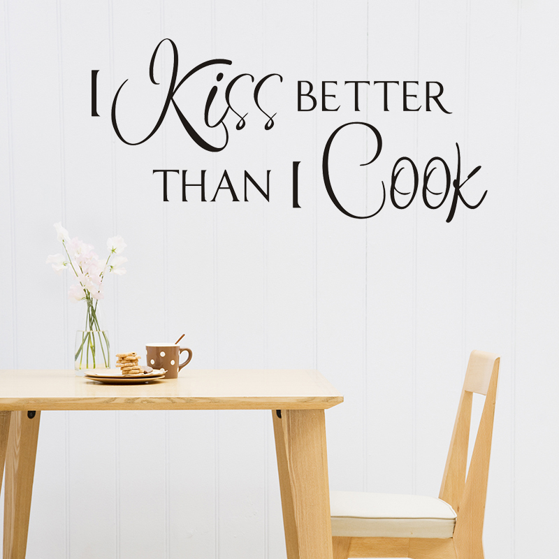 Kiss The Cook Kitchen Decor