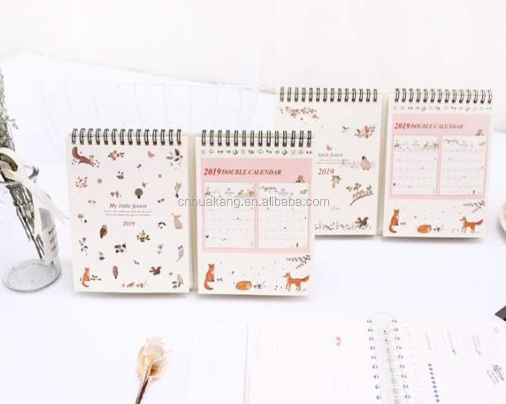 Calendario Diario 2019.2019 Calendario De Mesa Lista Diario Planificador Semanal Del Organizador Del Programa Calendario Diario Escritorio Planificador Calendario Perpetuo