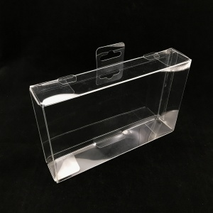 High Quality Customize Clear PET PVC Plastic Folding Box Plastic Packaging Box with Printing