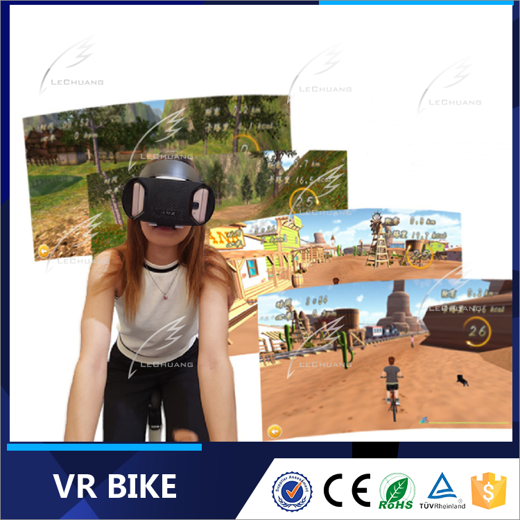2017 Small Business Virtual Reality Cinema Amusement Park 9D Cinema Rides VR Bike