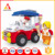 Children's favorite ice cream car for cartoon building blocks