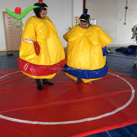 Fighting game adult kids fat costume wrestling sumo suits