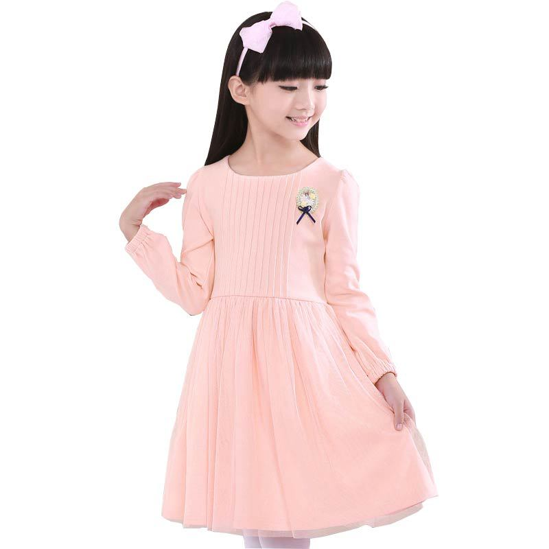 Teenage girls clothing short dress children's summer casual clothes girl lace dresses with bow kids party Princess costume