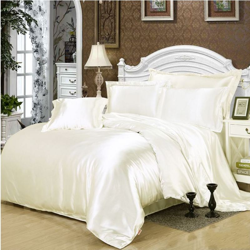 black white duvet sets aliexpress com acheter solide blanc noir or gris amazing interior the. Black Bedroom Furniture Sets. Home Design Ideas