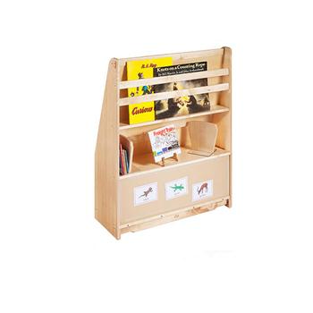 Stabile 2017 Most Popular Kids Furniture Reggio Montessori Oak Wooden Bookshelf Free Sample