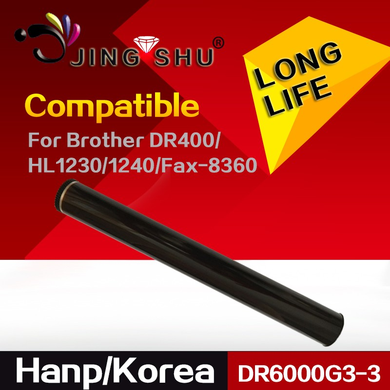 hanp from Korea Compatible DR6000G3-3 OPC Drum for BROTHER DR400 510 3200 HL1230 1240 1440 MFC-9600 DCP-1200 1400 Fax-4100 8360